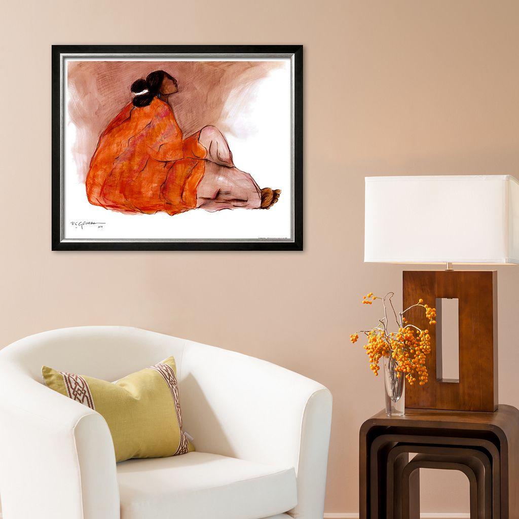Art.com Seated Woman Framed Art Print by R. C. Gorman