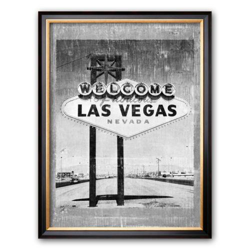 Art.com Welcome to Vegas Framed Art Print