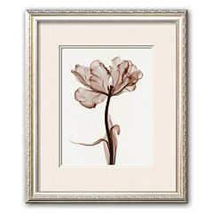 Art.com 'Parrot Tulips I' White Mat Framed Art Print by Steven N. Meyers