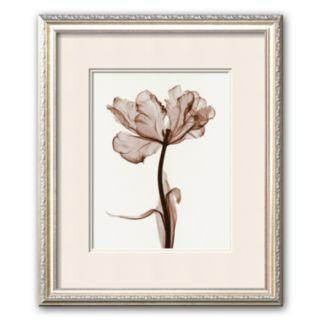 """Art.com """"Parrot Tulips I"""" White Mat Framed Art Print by Steven N. Meyers"""