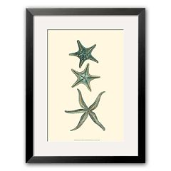 Art.com 'Aquamarine Starfish I' Framed Art Print