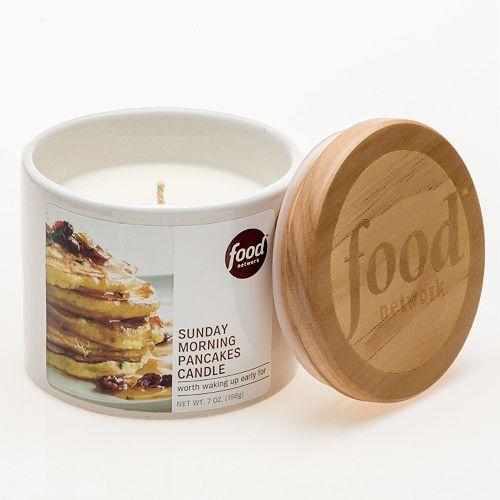 Food Network™ 7-oz. Sunday Morning Pancakes Jar Candle