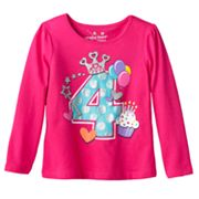 Jumping Beans Birthday 4 Tee - Toddler