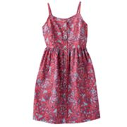 Mudd Paisley Dress - Girls 7-16