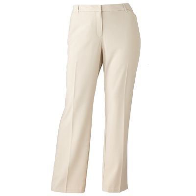 212 Collection Slimming Straight-Leg Pants - Women's Plus