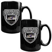 Baltimore Ravens Super Bowl XLVII Champions 2-pc. Ceramic Mug Set