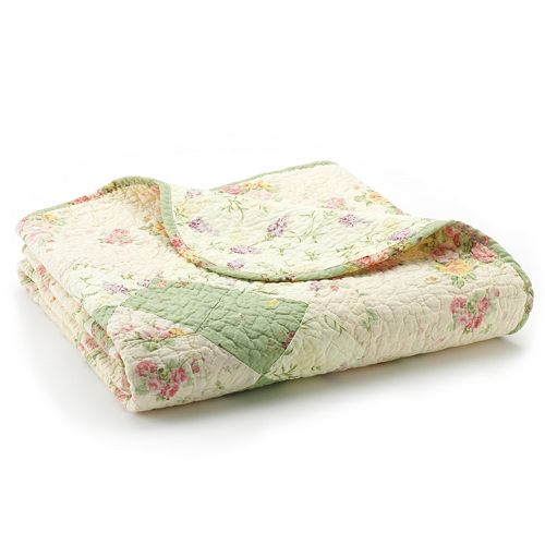 Bliss Reversible Quilted Throw