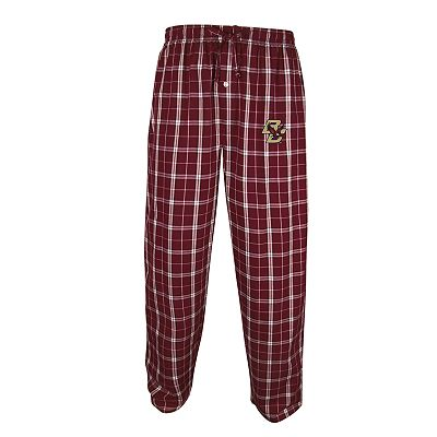 College Concepts Boston College Eagles Plaid Lounge Pants - Men
