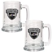 Baltimore Ravens Super Bowl XLVII Champions 2-pc. Glass Tankard Set