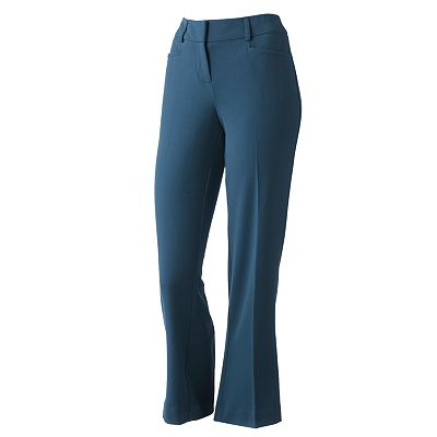 Apt. 9 Modern Fit Straight-Leg Pants - Petite