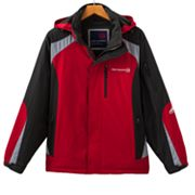 Free Country Colorblock Multi Ripstop Hooded Jacket - Men