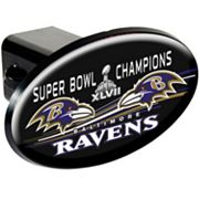 Baltimore Ravens Super Bowl XLVII Champions Trailer Hitch Cover