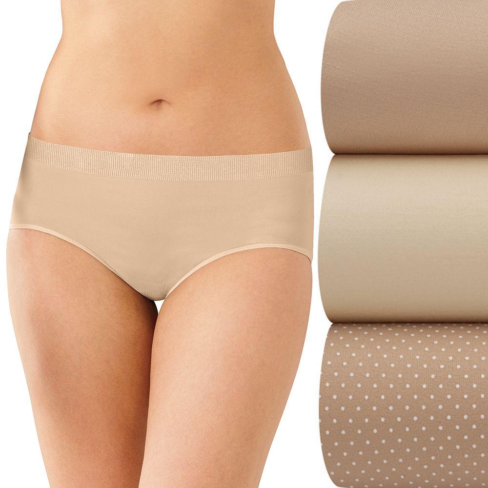 Bali® 3-pk. Comfort Revolution Seamless Hipster Panties AK90