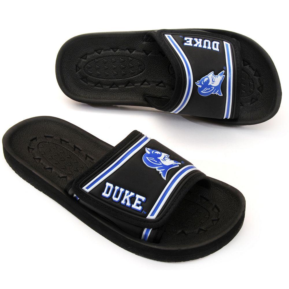 Decorative Adult Duke Blue Devils Memory Foam Slide Sandals