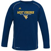 adidas West Virginia Mountaineers Speedwick Performance Tee - Boys 8-20