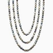 Dyed Freshwater Cultured Pearl Long Necklace