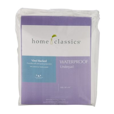 Home Classics Waterproof Mattress Underpad
