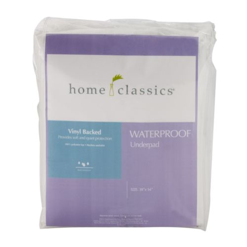 Home Classics® Waterproof Mattress Underpad