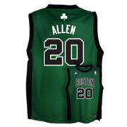 adidas Boston Celtics Ray Allen Alternate Jersey - Boys 8-20