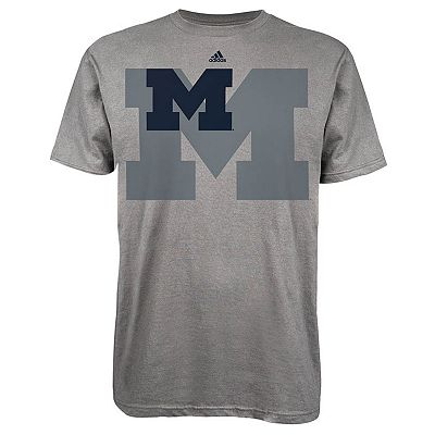 adidas Michigan Wolverines Ultra Logo Tee