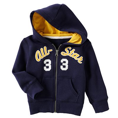 Carter's Sporty Fleece Hoodie - Baby
