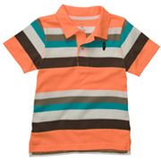 Carter's Striped Surfboard Polo - Toddler