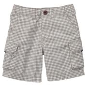 Carter's Checkered Cargo Shorts - Toddler