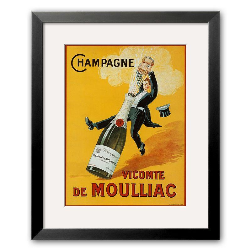 Art.com Champagne Framed Art Print, Multicolor