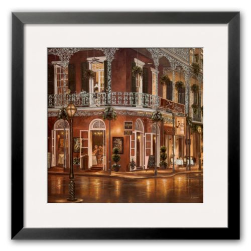 Art.com Jazz du Jour Framed Art Print by Betsy Brown