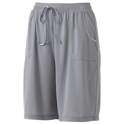 Croft and Barrow Balancing Act Pajama Bermuda Shorts