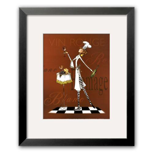 Art.com Sassy Chef II Framed Art Print By Mara Kinsley