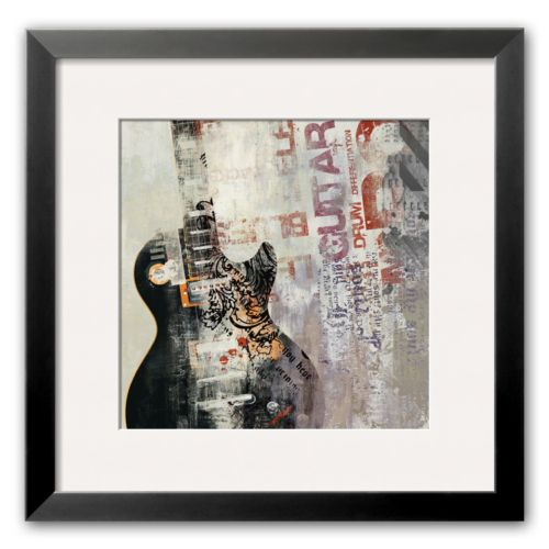 Art.com Rock n Roll II Framed Art Print by David Fischer