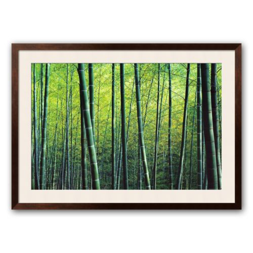 Art.com The Bamboo Grove Framed Art Print by Robert Churchill