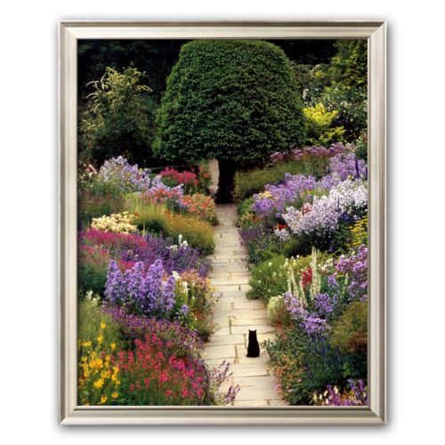 Art.com The Garden Cat Framed Art Print By Greg Gawlowski