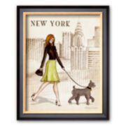 """Art.com """"New York"""" Framed Art Print By Andrea Laliberte"""