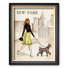 Art.com 'New York' Framed Art Print By Andrea Laliberte