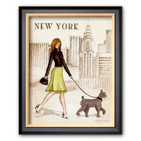 Art.com New York Framed Art Print By Andrea Laliberte