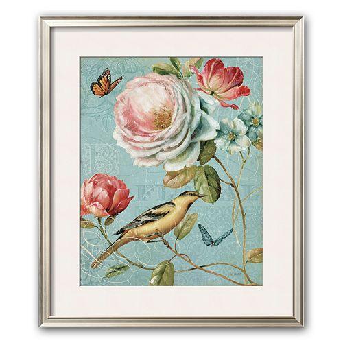 artcom spring romance ii framed art print by