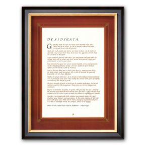 Art.com Desiderata Framed Art Print