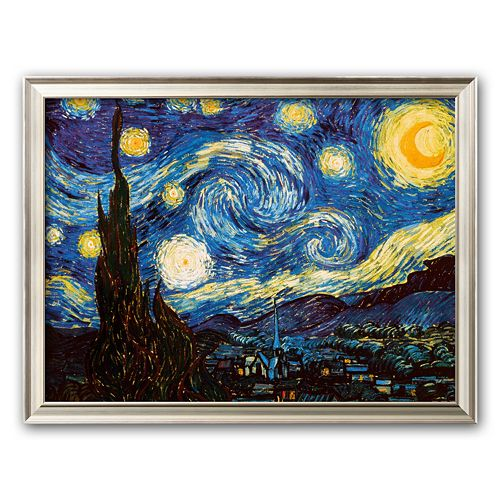 "Art.com ""Starry Night, c.1889"" Framed Art Print by Vincent van Gogh"