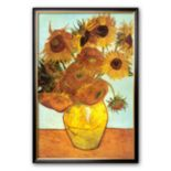"Art.com ""Sunflowers, c.1888"" Framed Art Print by Vincent van Gogh"