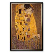 Art.com 'The Kiss, c.1907' Large Framed Art Print by Gustav Klimt