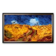 "Art.com ""Wheatfield with Crows, c.1890"" Framed Art Print by Vincent van Gogh"