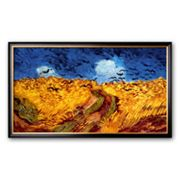 Art.com 'Wheatfield with Crows, c.1890' Framed Art Print by Vincent van Gogh