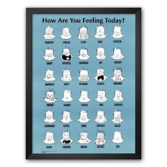 Art.com 'How Are You Feeling Today?' Framed Art Print by Jim Borgman