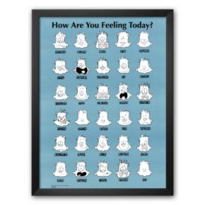 Art.com How Are You Feeling Today? Framed Art Print by Jim Borgman