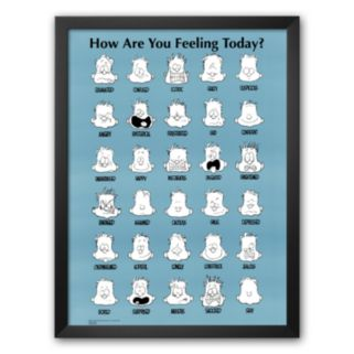 Art.com How Are You Feeling Today? Framed Art Print by Jim Borgman