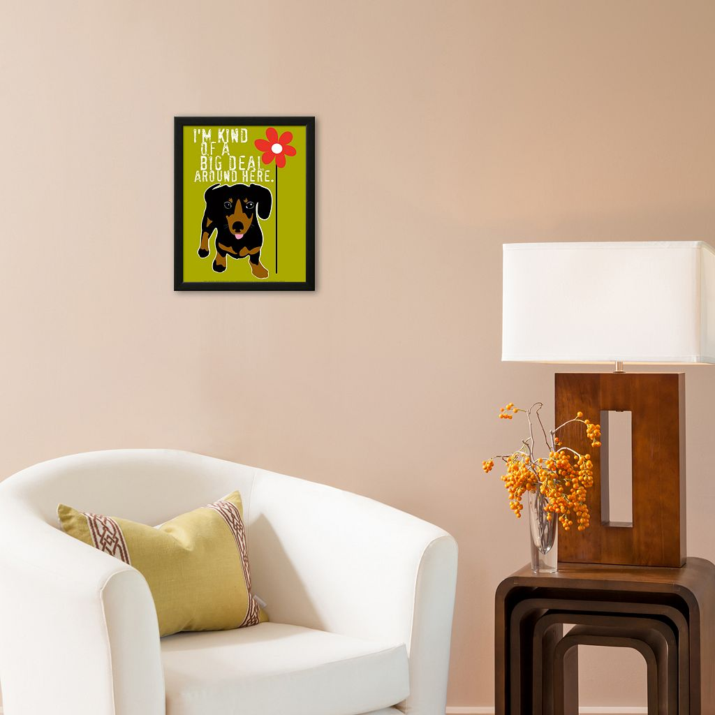 Art.com Big Deal Framed Art Print by Ginger Oliphant