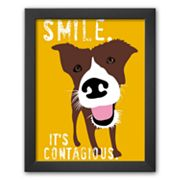 Art.com 'Smile' Framed Art Print by Ginger Oliphant