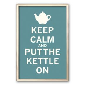 Art.com Keep Calm Tea  Framed Art Print